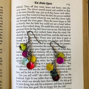 Claire's colorful shell dangle earrings